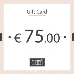 GIFT CARD 75 €